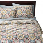 target threshold medallion reversible quilt set