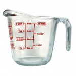 1 cup measuring cup glass