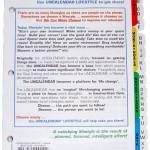 Uncalendar Lifestyle Pro Refill PHR-00006
