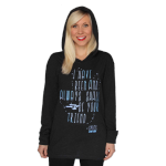 her universe spock quote hooded tee